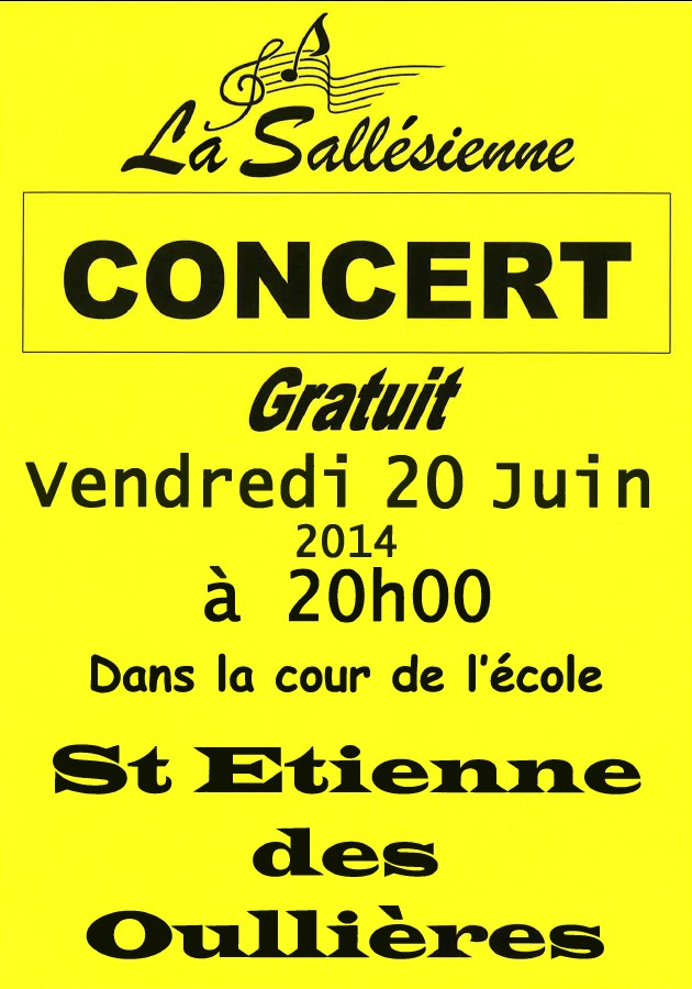 Concert  U00ab Fanfare La Sall U00e9sienne  U00bb  U2013 Salles
